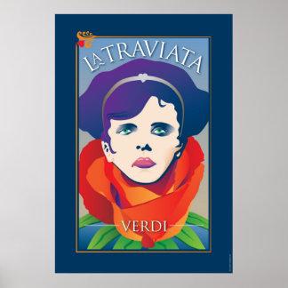 La Traviata, opéra Posters