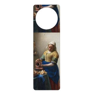 La trayeuse par Johannes Vermeer Cintres De Porte