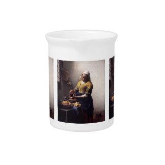 La trayeuse par Johannes Vermeer Pichet