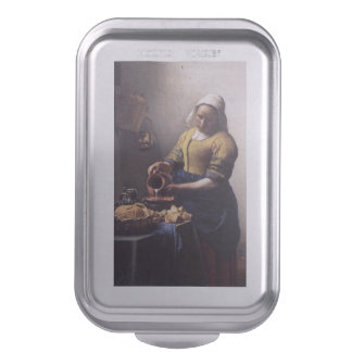 La trayeuse par Johannes Vermeer Moule À Gâteaux