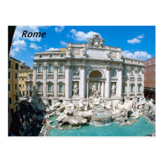 La TREVI-Fontaine-Rome-Italie [kan.k] .JPG Carte Postale