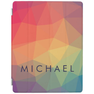 La triangle polygonale élégante colorée ajoutent protection iPad