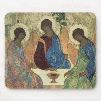 La trinité sainte, 1420s (tempera sur le panneau) tapis de souris