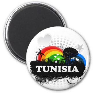 La Tunisie fruitée mignonne Magnets