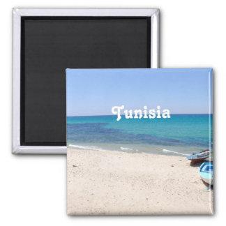 La Tunisie Magnet Carré