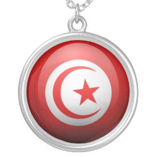 La Tunisie Pendentif Rond