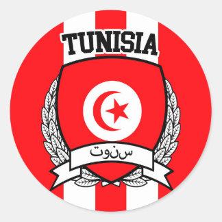 La Tunisie Sticker Rond