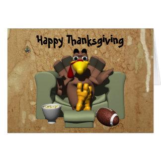 La Turquie et la carte de thanksgiving du football