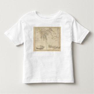 La Turquie III Grèce du sud et Candia T-shirt Pour Les Tous Petits