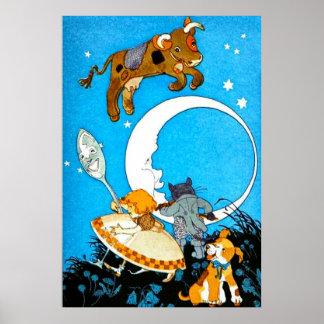 La vache sautée au-dessus de la lune (dans 23 posters