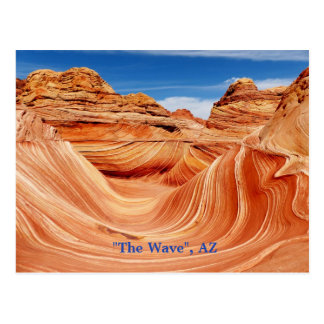 """La vague"", carte postale de l'Arizona"