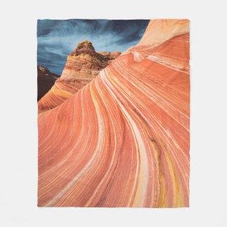 La vague, falaises vermillonnes, Arizona Couverture Polaire