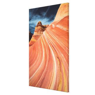La vague, falaises vermillonnes, Arizona Toile