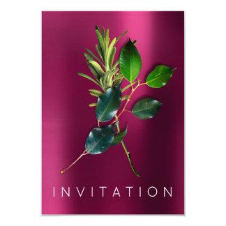 La verdure italienne de dîner de chef d'épices carton d'invitation 8,89 cm x 12,70 cm