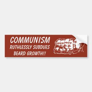 La vérité au sujet du communisme autocollant pour voiture