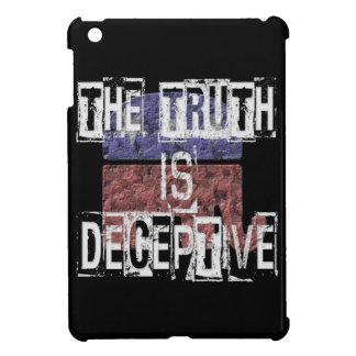 La vérité est 1 trompeur coque pour iPad mini