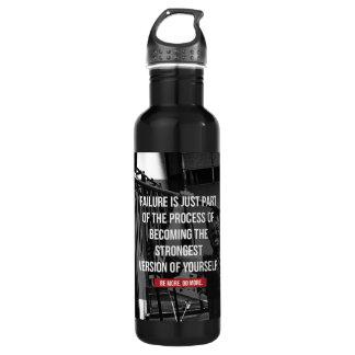 La version la plus forte de vous-même séance bouteille d'eau en acier inoxydable