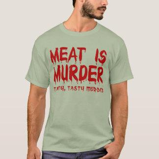 La viande est humour drôle de T-shirt de meurtre