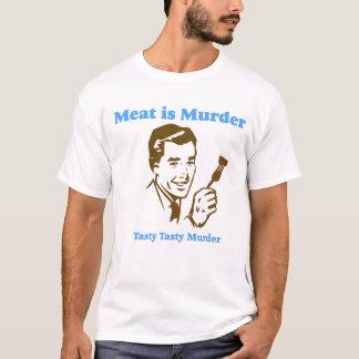 La viande est T-shirt de meurtre