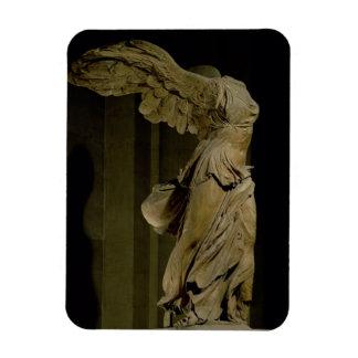 La victoire de Samothrace (marbre de Parian) (voir Magnet Rectangulaire