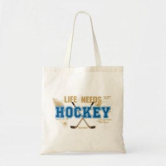 La vie a besoin d'hockey sac