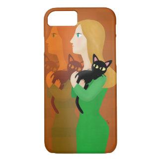 La vie avec le chat coque iPhone 7