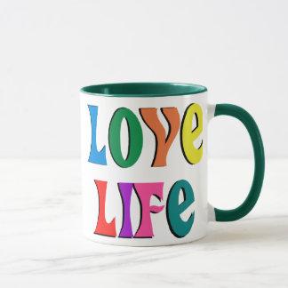 LA VIE D'AMOUR ! message chrétien personnalisable Mug