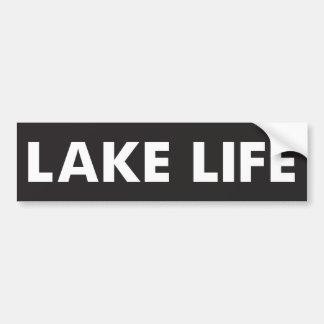 La vie de lac autocollant pour voiture