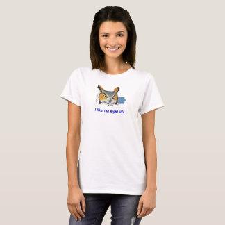 La vie de nuit de hibou T - femmes T-shirt