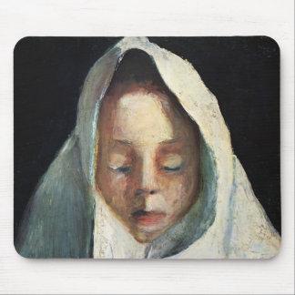 La vie de Paula Becker-Encore, la tête de l'enfant Tapis De Souris