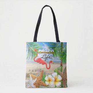 La vie de plage - tropicale sac