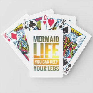 La vie de sirène vous pouvez garder vos jambes jeu de poker
