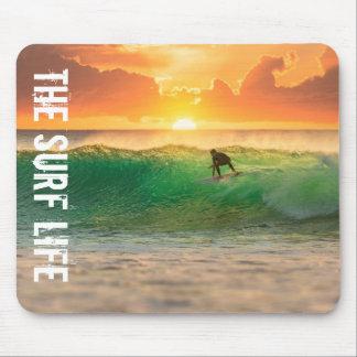 La vie de surf tapis de souris