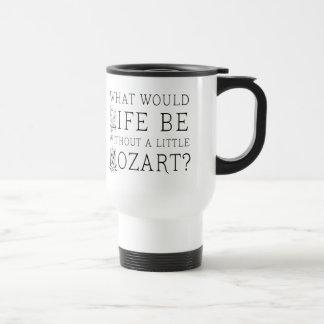 La vie drôle sans pièce en t de cadeau de musique mug de voyage
