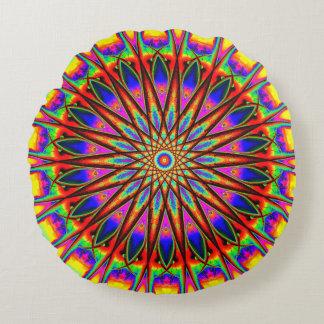 La vie en couleurs coussins ronds