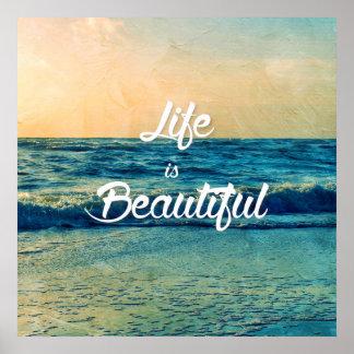 La vie est belle posters