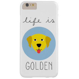 La vie est caisse d'or de téléphone de golden coque barely there iPhone 6 plus