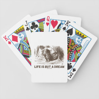La vie est mais un rêveur (le Roi rouge Snoring Jeu De Poker