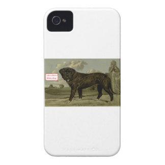 La vie est meilleure avec un chien coque iPhone 4 Case-Mate