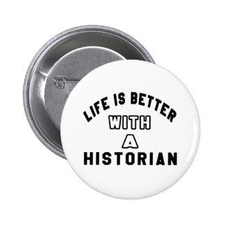 La vie est meilleure avec un historien badges