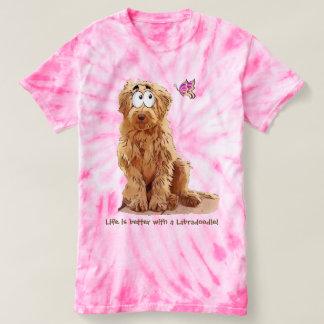 La vie est meilleure avec un Labradoodle T-shirt
