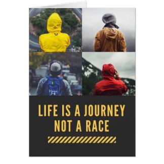 La vie est un voyage pas une carte de devise de