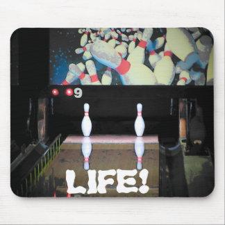 La vie est une mauvaise fente tapis de souris