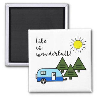 la vie est wanderfull ! aimant