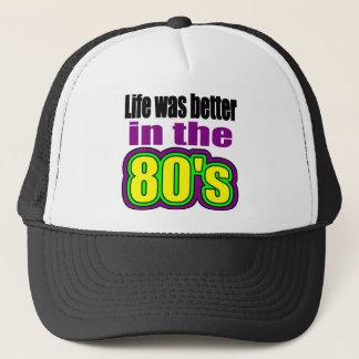 La vie était meilleure pendant les années 80 casquette
