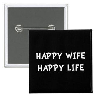 La vie heureuse d'épouse badge