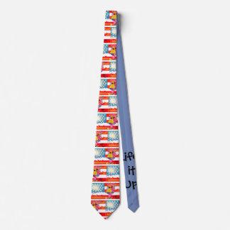 La vie il vers le haut des cravates