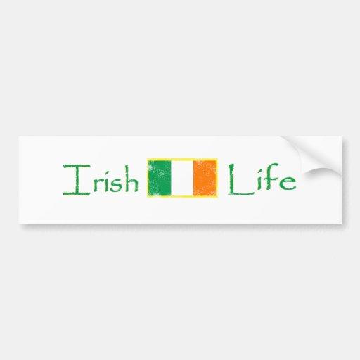 La vie irlandaise adhésifs pour voiture
