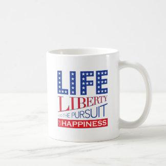 La vie, liberté et la poursuite du bonheur mug