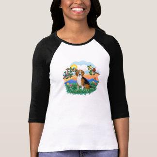 La vie lumineuse - beagle 4 t-shirt